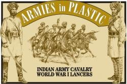 Armies In Plastic Indian Army Cavalry Lancers WWI 5476