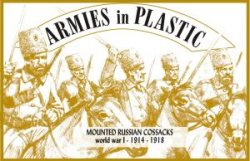 Armies In Plastic WWI - Mounted Russian Cossacks - 1914-1918 5532
