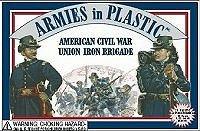 Armies In Plastic American Civil War Union Iron Brigade 5410