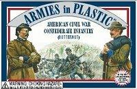 Armies In Plastic American Civil War - Confederate Infantry 5412
