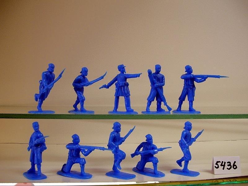 Figure Poses, In Brown Plastic