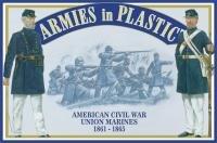 Armies In Plastic American Civil War - Union Marines 1861-1865 5459