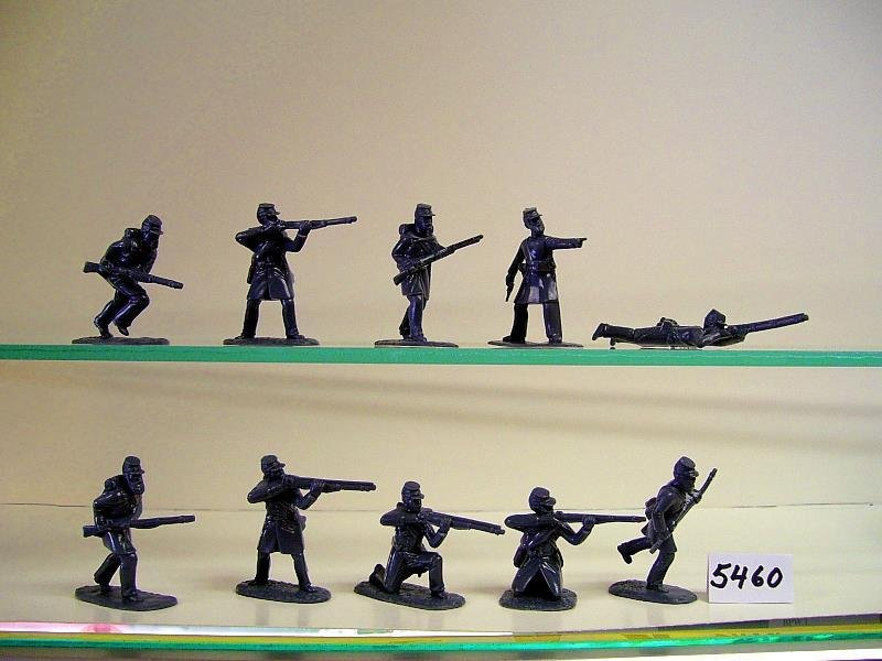 Figure Poses, In Grey Plastic