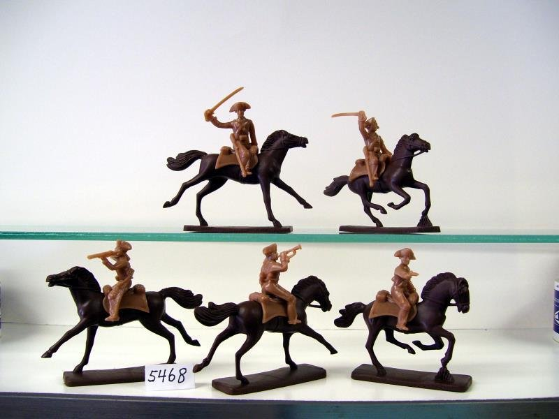 Figure Poses, In Green Plastic