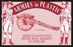 AIP American Revolution American -Continental Artillery Co Set # 5478
