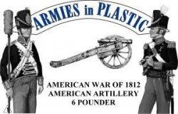AIP American War of 1812 - American Artillery Set 5565