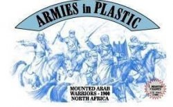 AIP 1/32nd Plastic Mounted Arab Warriors Set 5487