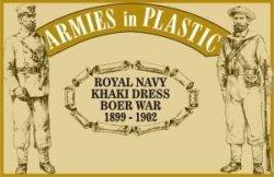 Armies In Plastic Boer War Royal Navy Khaki Dress 1899-1902 Set 5514