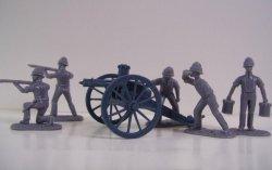 '.AIP Boer War British Gatling .'