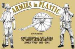 Armies In Plastic Boer War British Royal Artillery Set 5560