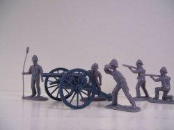 '.AIP Boer War British Artillery.'
