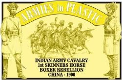 Armies In Plastic Boxer Rebellion Indian Army Cavalry Set 5473