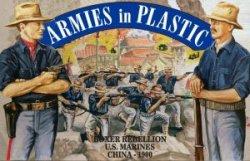 Armies In Plastic Boxer Rebellion U.S. Marines China 1900 Set 5508