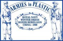 Armies In Plastic Boxer Rebellion Royal Navy Winter Dress China 1900 Set 5512