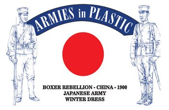 Armies In Plastic 1//32nd Boxer Rebellion China 1900 Japanese Army Set 5614 New!