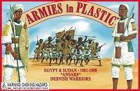 Armies in Plastic 1//32 54mm Box# 5440 Dervish  Warriors Ansars Egypt Sudan