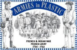 AIP French & Indian War 1/32nd French Army 1754 - 1763 Set # 5542