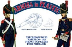 Armies in Plastic Napoleonic French Young Guard Peninsular Campaign Spain 54mm