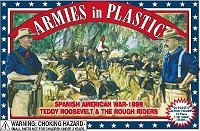 Armies In Plastic Spanish American War 1898 Rough Riders Set 5414