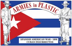 Armies In Plastic Spanish American War 1898 Cuban Insurrectos Set 5611