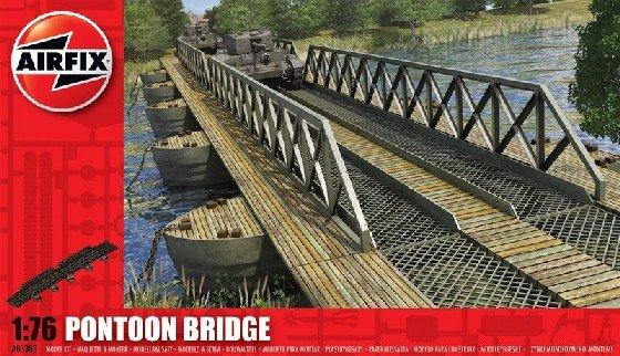 Image 0 of Airfix 1/72nd Scale Pontoon Bridge Plastic Playset