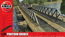 Airfix 1/72nd Scale Pontoon Bridge Plastic Playset