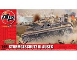 Airfix 1/72nd Scale WWII 75mm Assault Gun Tank Plastic Model Kit