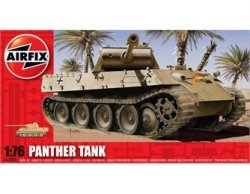 Airfix 1/72nd Scale WWII Panther Tank Plastic Model Kit