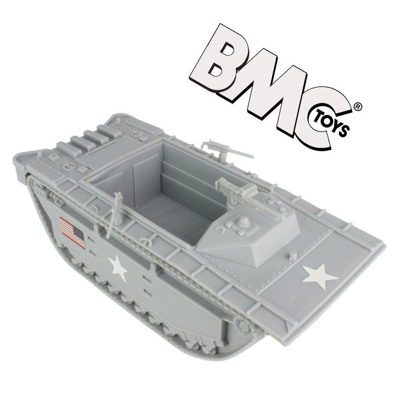 Image 0 of BMC Marines Plastic Amtrac Beach Landing Vehicle