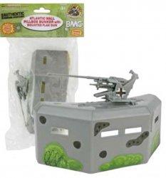 BMC Plastic Army Defensive Pillbox w/ Cannon 49997
