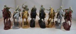 TSSD American Civil War Cavalry Figures Plastic Soldiers Set 24