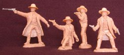 TSSD Tombstone Set 2: The Cowboys Plastic Figures Set 23