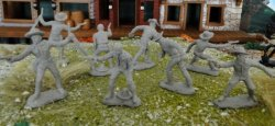 TSSD Tombstone Set 1: The Gunfighters Plastic Figures Set 21
