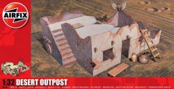 Airfix 1/32nd Scale Desert Outpost Building Plastic Model Kit