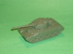 Modern Green Plastic Army Tank Style #2