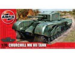 Airfix 1/72nd Scale WWII Churchill British Tank Model Kit