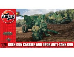 Thumbnail of Airfix 1/72nd Scale WWII British Bren Carrier & Anti-tank Cannon Model Kit