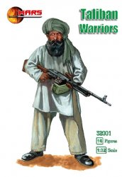 Mars 1/32nd Scale Modern Taliban Plastic Soldiers Set