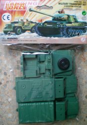Hing Fat Landing Force Plastic Army Vehicles Set