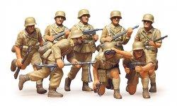 Tamiya 1/35 British 8th Army  Desert Rat (8) Soldiers Plastic Model Kit 35032