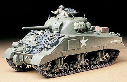 Tamiya 1/35 US M4 Sherman Tank Plastic Model Kit 35190