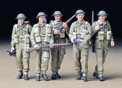Tamiya 1/35 British Infantry on Patrol (5) Plastic Model Kit 35223