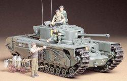 Tamiya 1/35 British Churchill Mk VII Plastic Model Kit 35210