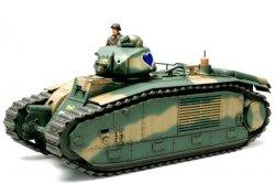 Tamiya 1/35 French Battle Tank Char B1bis w/75mm Gun Plastic Model Kit 35282