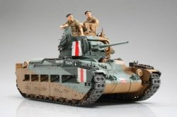 Tamiya 1/35 British Matilda Mk III/IV Infantry Tank Plastic Model Kit 35300