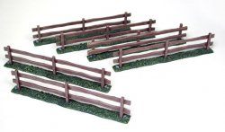 Pegasus Multi-Scale for 1/72-1/32 Wooden Fences Painted 5201