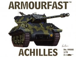 Armourfast 1/72nd Scale WWII US Achilles Tank Destroyer Kit # 99008