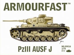 Armourfast 1/72nd Scale WWII US Sherman Firefly Tank Kit # 99017