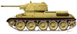 Armourfast 1/72nd Scale WWII Russian T34/76 Mod. 1943 Tank Kit # 99022