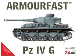 Armourfast 1/72nd Scale WWII German Panzer IV G Tank Kit # 99027